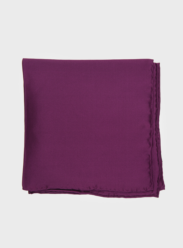 Art Gallery Clothing Purple Pocket Square